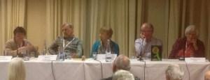 CrimeFest Golden Age Panel